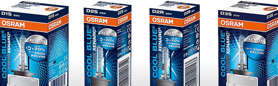 OSRAM-XENARC-COOL-BLUE-INTENSE Ausführungen
